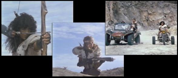Amazonas calcadas a la Mujer Guerrera de Mad Max II... ¡la líder es clavada!