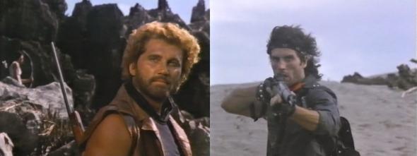 En la reyerta se presenta a Stryler, el coportagonista y su compañero (al que no creo que nombren en todo el filme)