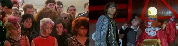 los Renegados de Bowie, el doblesemisombrerero loco y la payasojo. Mentí.